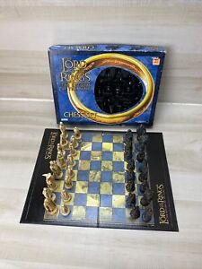 Lord Of The Rings The Return Of The King Chess Set Parker Brothers CIB **READ