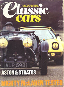 Thoroughbred & Classic Cars December 1983 - Stratos, Alfa Montreal - Free Post