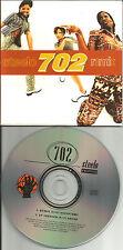 702 Steelo w/ RARE REMIX 2TRX  LIMITED EDITION USA CD Single 1997 CARD SLEEVE