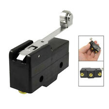 Screw Terminals Long Hinge Roller Lever Micro Limit Switch 380VAC 15A HY