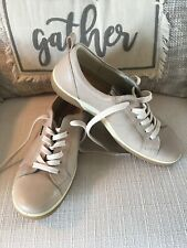 ECCO Women's Tan Comfort Walking Shoes 38 EU 7 US Lace Up Leather Oxford