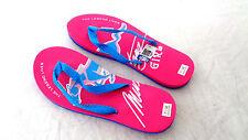 Ladies Ford Mustang Girl 4X4 Sandals Flip Flop Beach Sandals