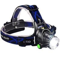 3800 6000 10000 Lumen LED Headlamp Headlight Head Lamp with Rechargeable Battery