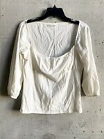 Reformation Shirt Top Blouse Large