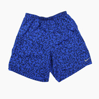 Nike Megapixel 7 Distance DriFit Lined Running Shorts Mens M Navy Blue 5651
