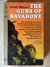 Alistair MacLean THE GUNS OF NAVARONE 1966 Gregory Peck Anthony Quinn Movie!!!