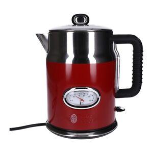 Russel Hobbs 21670-70 Retro Wasserkocher rot 1,7 Liter