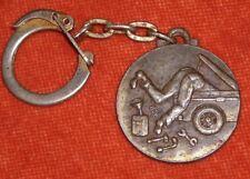 Porte-clés key chain garage des Entrepots Saint OUEN edit° FICHET mécano moteur