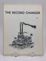 Vintage May 1957 THE RECORD CHANGER Jazz Music Magazine, Marty Grosz Cover