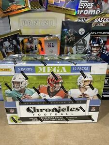 2020 Panini NFL Chronicles Football Trading Card Mega Box Vertex Rookies 🏈🔥