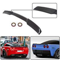 For 05-13 Corvette C6 | ZR1 Style CARBON Color Rear Trunk Wing Spoiler