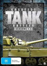 Greatest Tank Battles : Season 1-3 (DVD, 2015, 8-Disc Set)