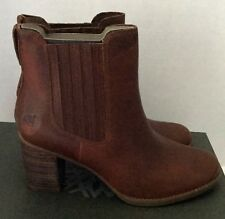 Timberland Women's Medium Brown Boots A1976 Size 9.5 Atlantic Heights Chelsea