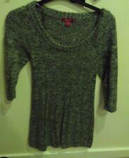 Monsoon Grey Jumper/Tunic Knitted Dress **FREE P&P**