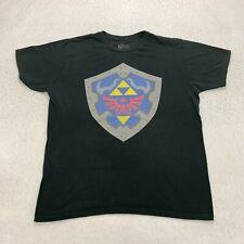 The Legend Of Zelda Ocarina Of Time 3D T-Shirt Size XL Black Videogame Promo