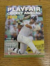 2012 Cricket: Playfair Cricket Annual . Bobfrankandelvis (aka Footy Progs) selle