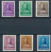 [30162] Luxembourg 1935 Good set Very Fine MH stamps