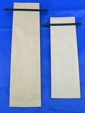 Bap 100- 8oz Kraft Side Gusseted Coffee Bags, valve and tin tie- other sizes