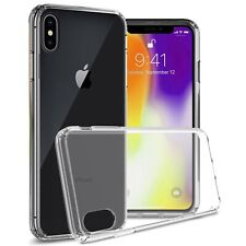 Clear Slim Fit TPU Bumpers Hard Back Cover Phone Case for Apple iPhone XS Max
