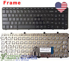 NEW Laptop US Keyboard For HP ENVY6-1000 ENVY 6-1110us 6-1111nr 6-1129wm Frame!!