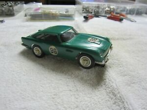 Used Revell 1/32 Scale Aston Martin DB5 Green Kit Slot Car (see pictures)