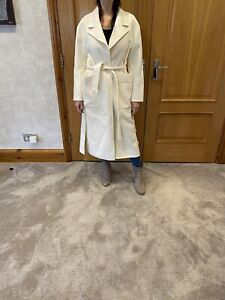All Saints Ivory White Hazel Coat/current/RRP £379/NwT