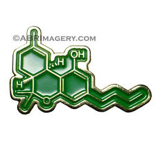 Hat Pin 6 - THC Molecule - RARE!!! Limited Edition Headdy 420 710 Glassblowing