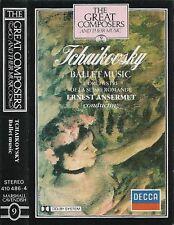 Tchaikovsky Ernest Ansermet Ballet Music CASSETTE ALBUM Great Composers 9