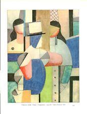 Document ancien Publicité issue du livre Fernand Léger 1966 Raymond Cogniat