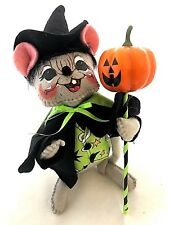 """ANNALEE 6"""" HALLOWEEN WARLOCK MOUSE - NEW with TAG - 2016  (5318)"""