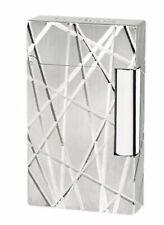 S.T. Dupont Ligne 2, Palladium Fire Lines Lighter, ST016264, New In Box