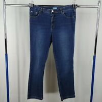 Westport Blue Jeans Womens Size 14 Short Mid Rise Medium Wash Tapered
