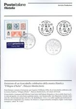 ITALIE 2006 PALAZZO MONTECITORIO BULLETIN COMPLET DE TIMBRES ANNULATION FDC
