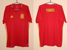Spain España Euro 2016 Torres Adizero Player Issue Adidas Training Shirt Jersey