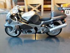Maisto Suziki Hayabusa GSX1300R Model Motorcycle Unboxed