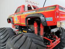 Black Rubber Fender Set Tamiya R/C 1/10 Super Clod Buster Clodbuster Truck