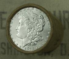 $20 BU MORGAN DOLLAR ROLL UNCIRCULATED SILVER 1878 & CC Mint ENDS DOLLARS Z32