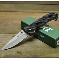 CRKT Columbia River Hammond Cruiser 8Cr14MoV Black Handle Folding Knife 7904