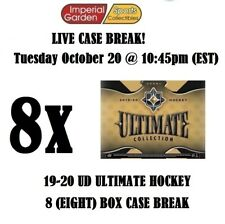 19-20 UD ULTIMATE 8 (EIGHT) BOX CASE BREAK #1971 - Pittsburgh Penguins