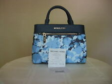 Authentic Michael Kors 35S8GX2S5T Hailee XSmall Satchel Leather Navy
