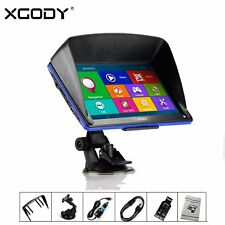 "XGODY 886 7"" POLLICI NAVIGATORE SATELLITARE GPS 8GB CAMION TRUCK AUTO MAPPA IT"