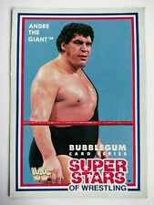 WWF Superstars of Wrestling Cards 1989 - Series 1 - #2 Andre The Giant