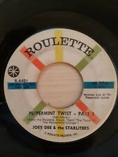 Joey Dee & The Starliters - Peppermint Twist Part 1&2 - Roulette Records 4401