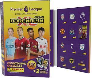 Premier League 2020/21 Adrenalyn XL Cuenta Regresiva Calendario Adviento