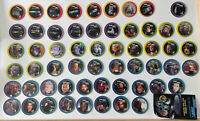 Lot Of 57 Star Trek TNG The Next Generation Pogs 1994 Star Disc Missing #9 Toys