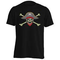 Skull Pirate Funny Novlety New Men's T-Shirt/Tank Top k90m