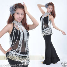 Brand New Belly Dance Belly Costume Accessory Necklace Gold / Silver Handmade