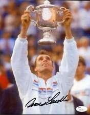 Ivan Lendl Jsa Coa Autographed 8x10 Photo Authentic Signed