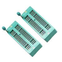 US Stock 2pcs 40 P 40 Pin ZIF ZIP IC Test Tester DIP Board Socket 240-3345