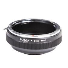 Adapter Ring fr Canon EOS Lens to micro M4/3 E-PL9 E-M10 Mark II III GF9 GH5 GH4